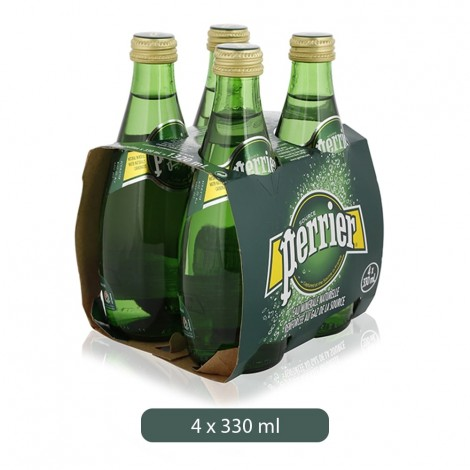 Perrier Mineral Water 4x330ml
