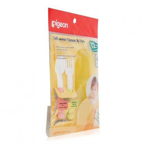 Pigeon-Baby-Self-Wean-Spoon-Fork-12-Months_Hero