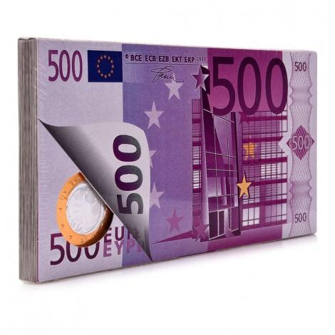 Van Gaudae Euro Coin Bank Note Chocolate - 100 g