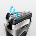 Braun Series 3 3040 Wet & Dry Cordless Shaver with Long Hair Trimmer