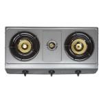 Elekta 3 Burner Teflon Coated Gas Cooker with Full Safety, EGC-304TC(FFD)