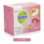 Dettol-Skincare-Anti-Bacterial-Soap-Bar-4-x-165-g_Hero