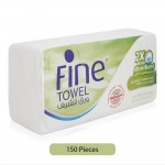 Fine-2-More-Absorbent-2-Ply-Interfolded-Kitchen-Paper-Towel-150-Sheets_Hero