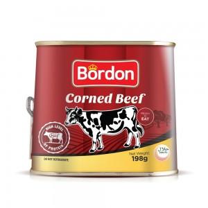 Bordon Corned Beef, 198 gm