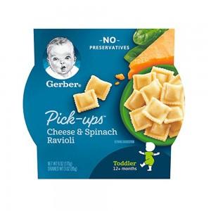 Gerber PickUps Cheese Spinach Ravioli - 170 grams