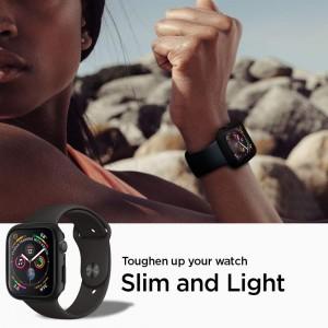 Spigen Thin Fit Designed for Apple Watch case/cover for 44mm Series 6 / SE / 5/4 - Black
