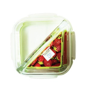 Joy Home(Platinum) 2 Div. glass Containers 750ml