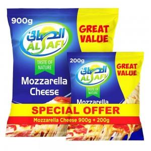 Al Safi, Mozzarella Cheese, 900g + 200g Free pack