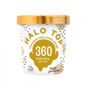 Halo Top Chocolate Chip Cookie - 473ml