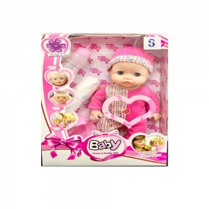 Assorted Sleeping doll with closing eyes and baby sound