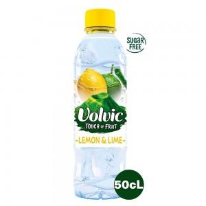 Volvic Natural Mineral Water Lemon & Lime 500ml