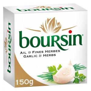 Boursin Soft Cheese, Garlic and Herbs, 150g