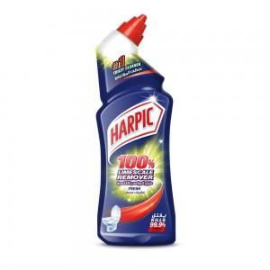 Harpic Toilet Cleaner Liquid Limescale Remover Fresh, 750ml