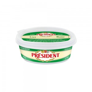 President Butter Salted Tub, 250gm