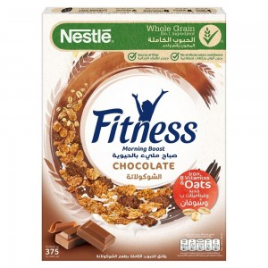NESTLE FITNESS Chocolate Breakfast Cereal 375g
