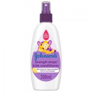 JOHNSON'S, Conditioner, Strength Drops™ Kids Conditioner Spray, 200ml