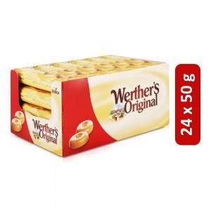 Werthers Original Classic Cream Candies - 24 x 50 g