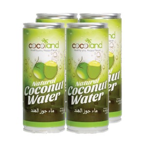 Cocoland Coconut Water 4x250 ml