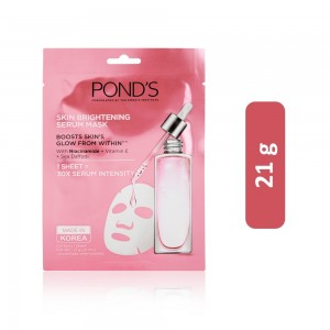 Ponds Skin Brightening Serum Face Mask - 21 g