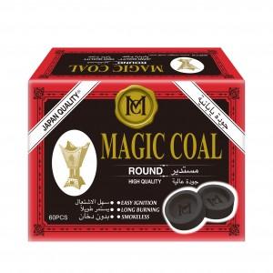 Magic Coal Round - 60 Pieces
