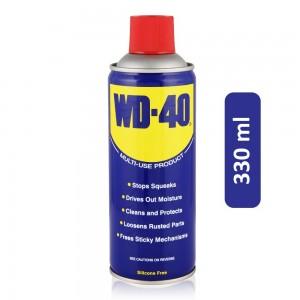 WD-40 Original Multi-Purpose Lubricant Oil with Smart Straw - 330 ml