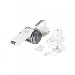 Black+Decker 14.4V Lithium-ion Pivot Dustbuster/Cyclonic Hand Vacuum Cleaner, PV1420L-B5, 1 kg/H18.6 x W30 x D15.8 cm, White, 2 Years Brand Warranty