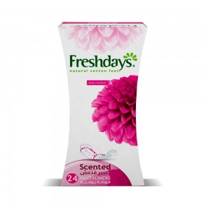 Freshdays Daily Liners  Normal Scented 24 Pads