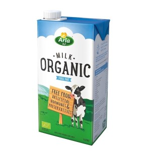 Arla Full Fat Organic Milk - 1 Liter