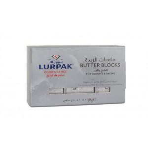 Lurpak Cook's Range Unsalted Pre-measured Butter Blocks 6x50g