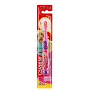 Colgate Kids Toothbrush Barbie/Batman Assorted 2-5 Years Extra Soft Manual Toothbrush 1pk