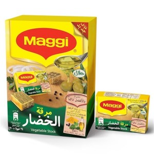Maggi Vegetable With Olive Oil Stock Bouillon 20g
