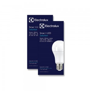Electrolux A60 Lamp Warm Light - 2x8.5Watt