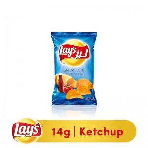 Lays Ketchup Potato Chips, 14g