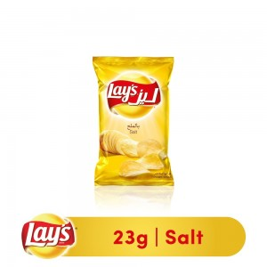 Lays Salted Potato Chips, 23g