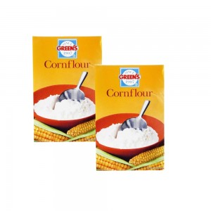 Greens Corn Flour Pk 2x400 Gm