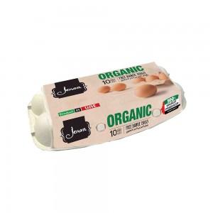 Jenan Organic Eggs 10 Pieces
