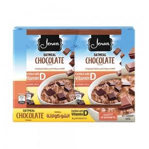 Jenan Oats Flavored Chocolate 35g x 12 sachet Box