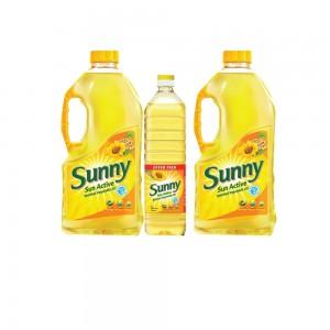 Sunny Sun Active Vegetable Oil 2x1.5Ltr+750ml