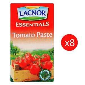 LACNOR Essential Tomato Paste - 8 x 135 g