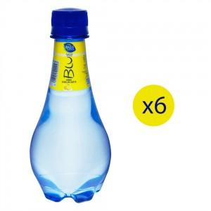 Blu Sparkling Water Lemon, 6x250ml