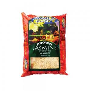 World Recipes Jasmine Brown Rice 2kg