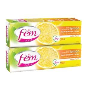 Fem Hair Remove Cream Lemon2X120Gm