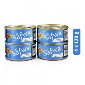Al Safai Light Meat Tuna Flakes in Sunflower Oil - 4 x 120 g
