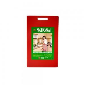 National Cuting Board 410X250X20Mm Medium -Red