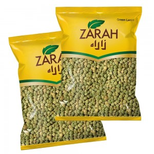 Zarah Green Lentils - 2 x 1000 g