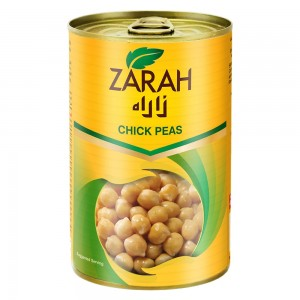 Zarah Canned Chick Peas 400Gm