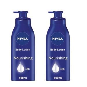 Nivea body lotion dry -2x400ml