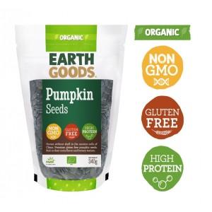 Earth Goods, Organic Pumpkin Seeds 340g