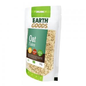 Earth Goods, Organic Oat flakes 500g