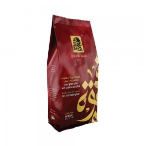 Qahwat Yadoh Arabic Ground Coffee with Cardamom & Saffron, 450 gm